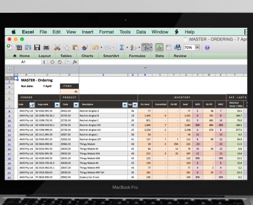 Bestandsplanung mit Excel